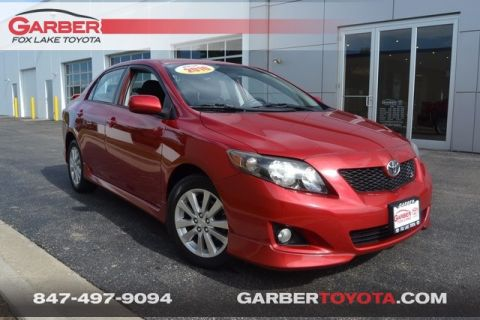 Pre-Owned 2010 Toyota Corolla S FWD 4D Sedan