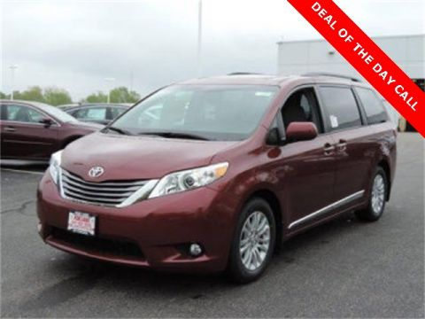 New 2016 Toyota Sienna XLE With Navigation