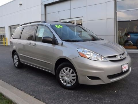 Pre-Owned 2006 Toyota Sienna LE FWD 4D Passenger Van