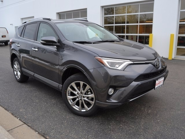 new 2017 toyota rav4 platinum 4d sport utility in fox lake hw578357 garber fox lake toyota. Black Bedroom Furniture Sets. Home Design Ideas